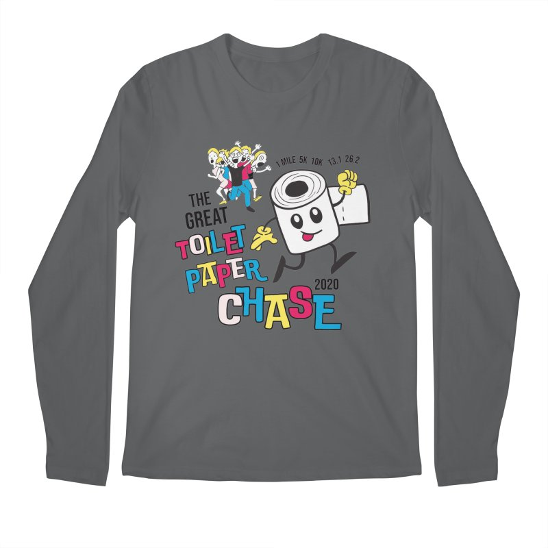 The Great Toilet Paper Chase of 2020 Men's Regular Longsleeve T-Shirt by Moon Joggers's Artist Shop