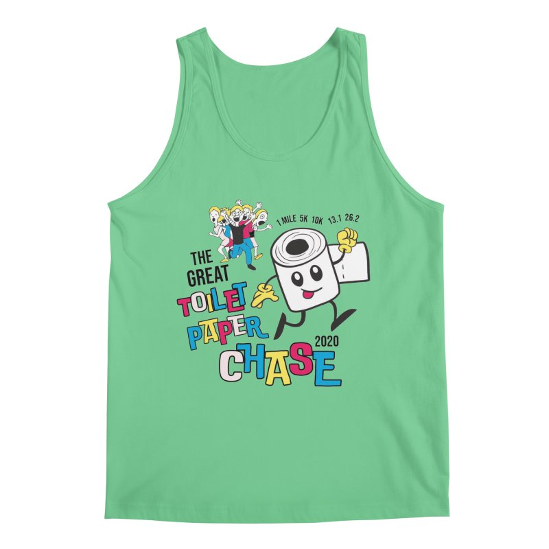 The Great Toilet Paper Chase of 2020 Men's Regular Tank by Moon Joggers's Artist Shop