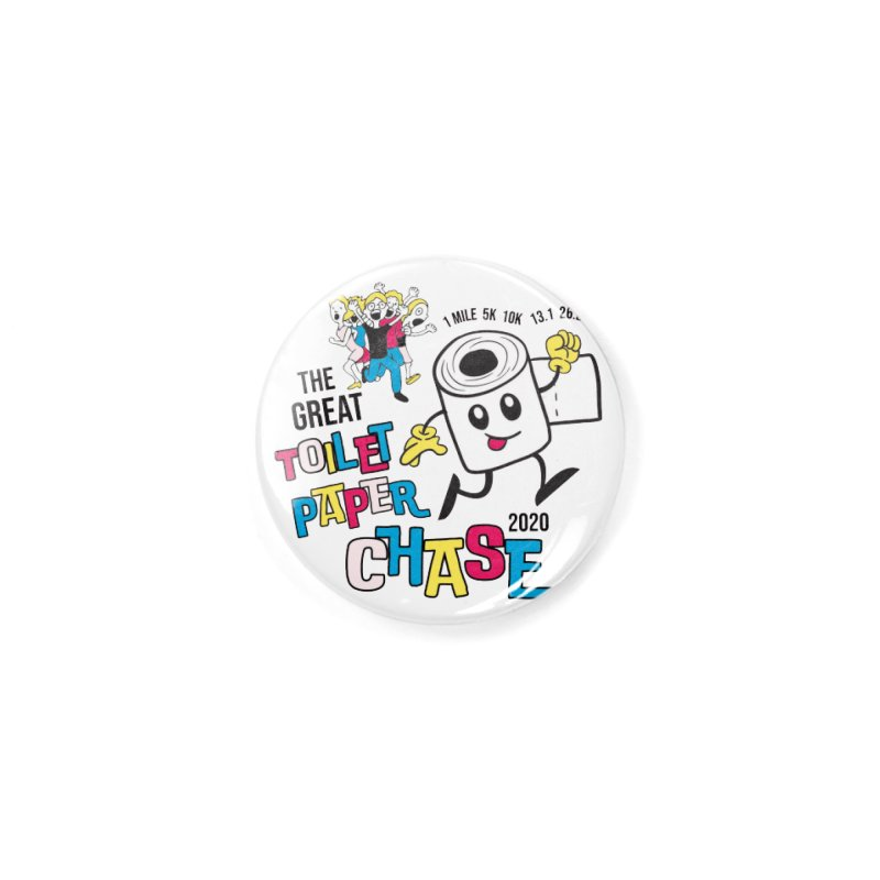 The Great Toilet Paper Chase of 2020 Accessories Button by Moon Joggers's Artist Shop