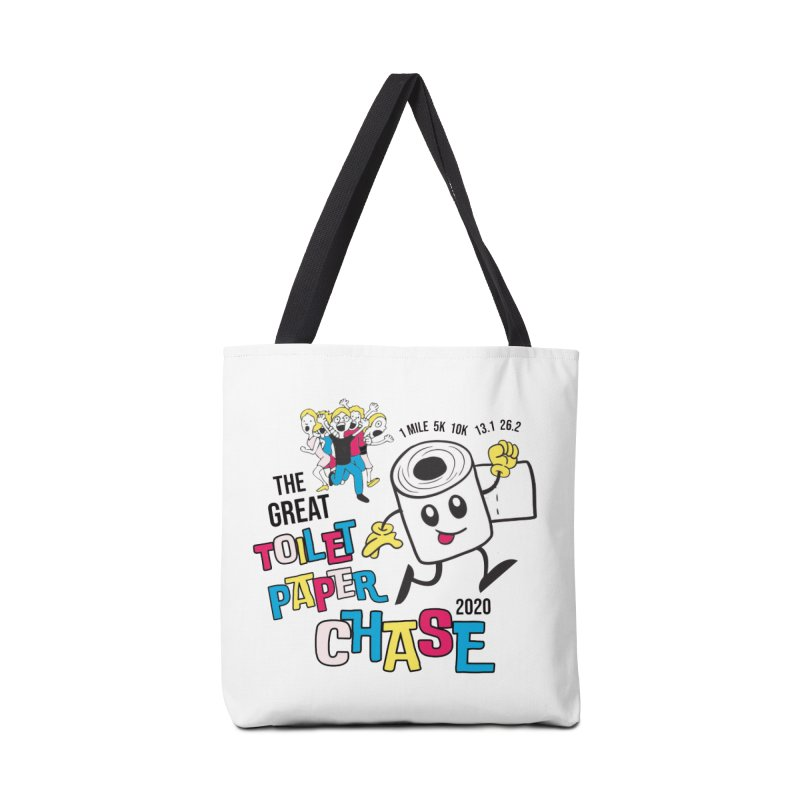 The Great Toilet Paper Chase of 2020 Accessories Tote Bag Bag by Moon Joggers's Artist Shop
