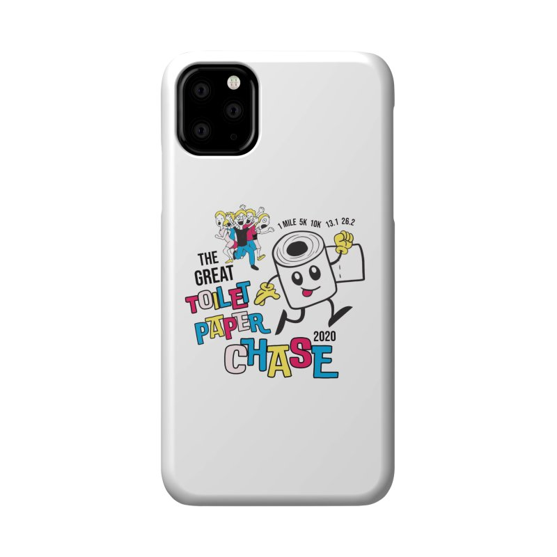 The Great Toilet Paper Chase of 2020 Accessories Phone Case by Moon Joggers's Artist Shop