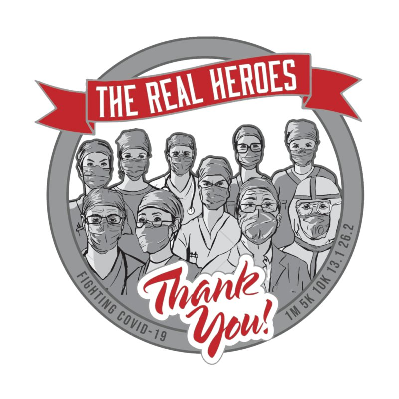 The Real Heroes Women's T-Shirt by Moon Joggers's Artist Shop