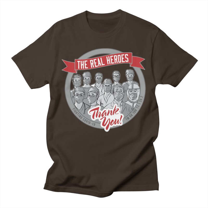 The Real Heroes Men's T-Shirt by Moon Joggers's Artist Shop