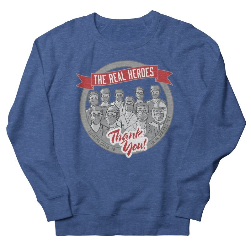 The Real Heroes Men's Sweatshirt by Moon Joggers's Artist Shop