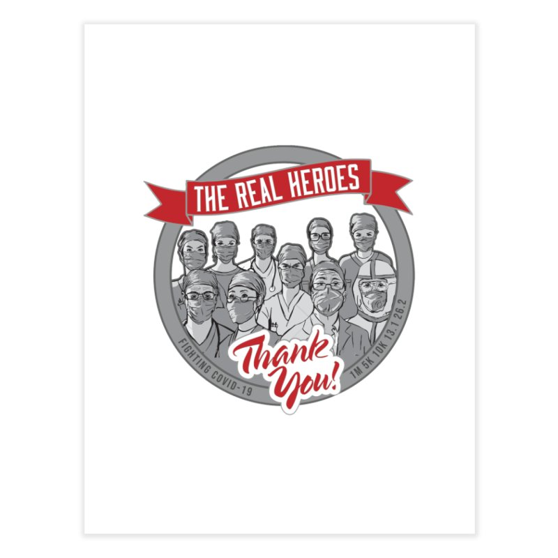 The Real Heroes Home Fine Art Print by Moon Joggers's Artist Shop