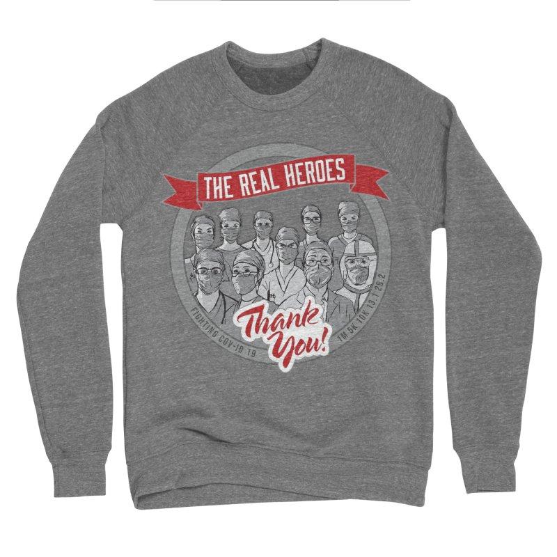 The Real Heroes Men's Sponge Fleece Sweatshirt by Moon Joggers's Artist Shop