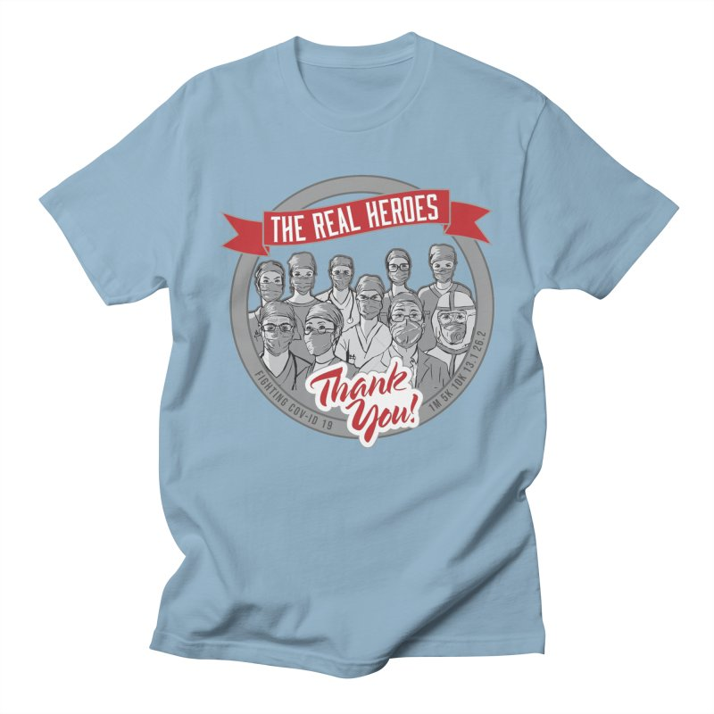 The Real Heroes Men's Regular T-Shirt by Moon Joggers's Artist Shop