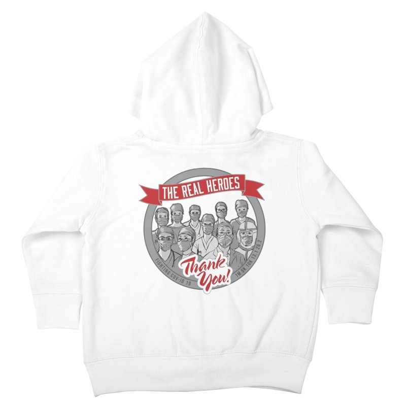 The Real Heroes Kids Toddler Zip-Up Hoody by Moon Joggers's Artist Shop