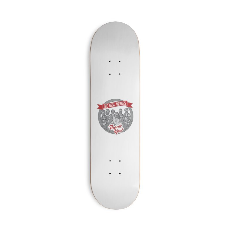 The Real Heroes Accessories Deck Only Skateboard by Moon Joggers's Artist Shop