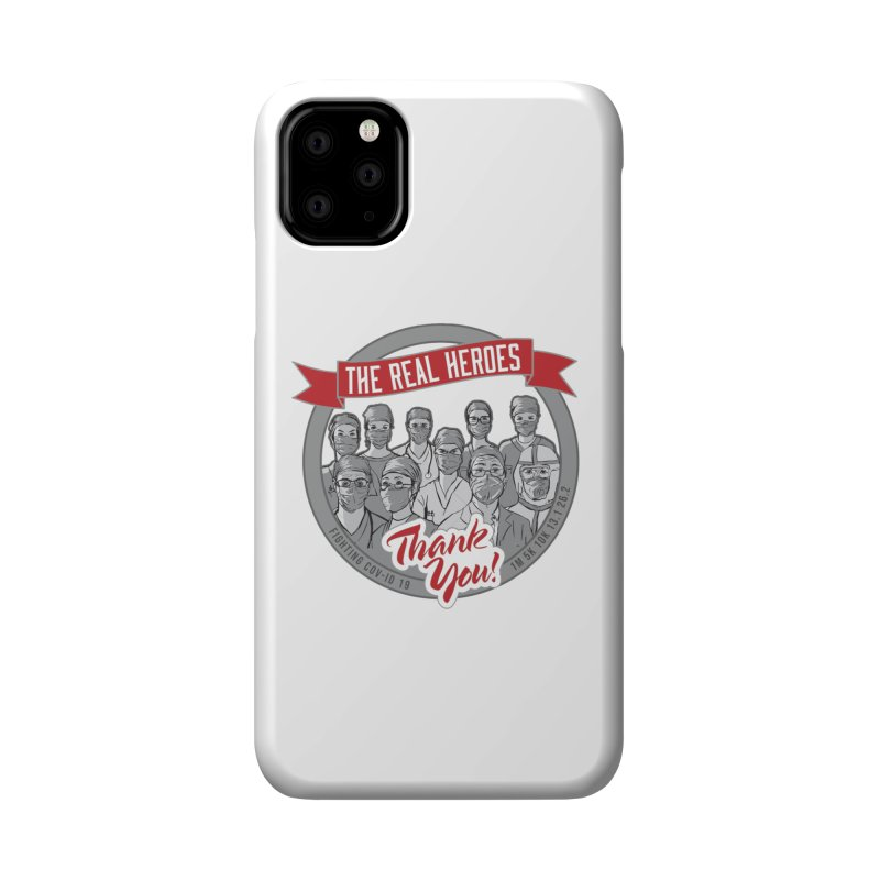The Real Heroes Accessories Phone Case by Moon Joggers's Artist Shop