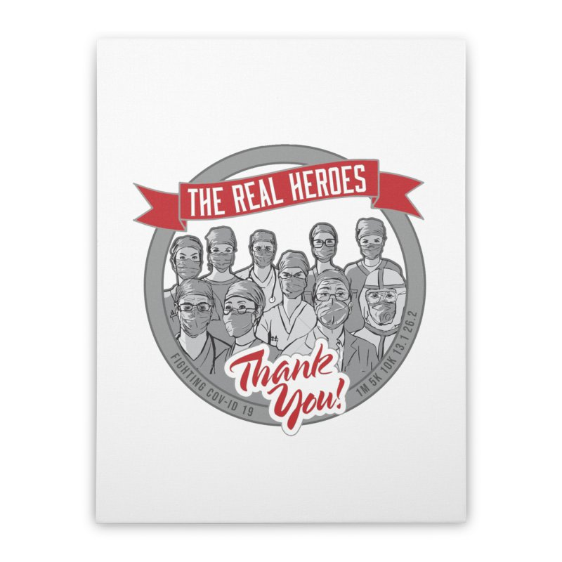 The Real Heroes Home Stretched Canvas by Moon Joggers's Artist Shop