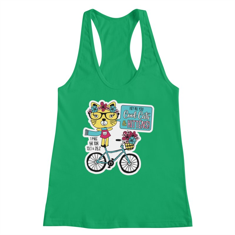 Cool Cats and Kittens Women's Tank by Moon Joggers's Artist Shop