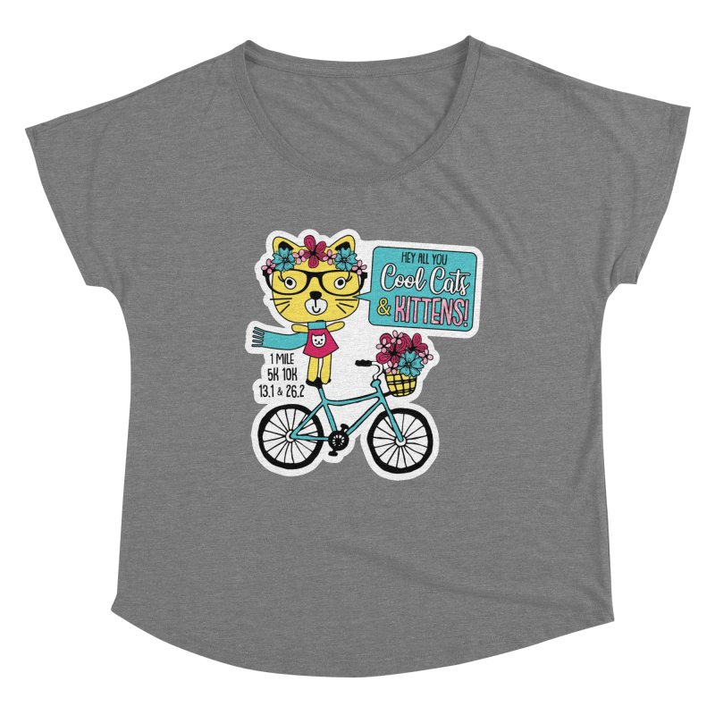Cool Cats and Kittens Women's Scoop Neck by Moon Joggers's Artist Shop