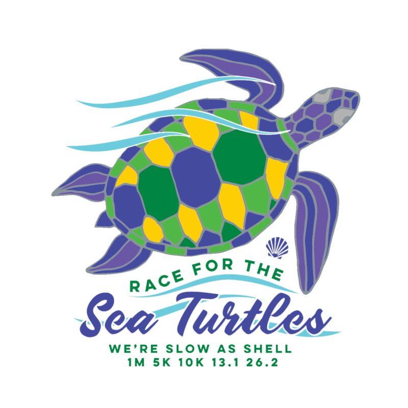 Sea Turtles: We are slow as shell Men's T-Shirt by Moon Joggers's Artist Shop