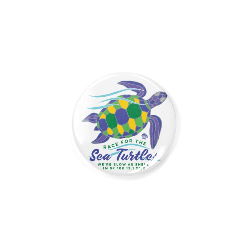 Sea Turtles: We are slow as shell Accessories Button by Moon Joggers's Artist Shop