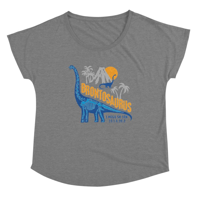 Dinosaurs! Brontosaurus Women's Scoop Neck by Moon Joggers's Artist Shop