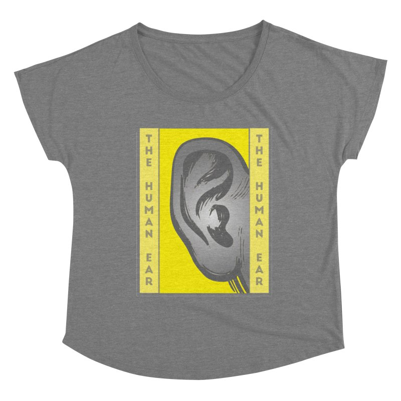 The Human Ear Women's Scoop Neck by Moon Joggers's Artist Shop