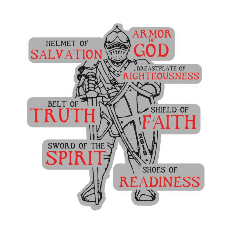 Armor of God Accessories Button by Moon Joggers's Artist Shop