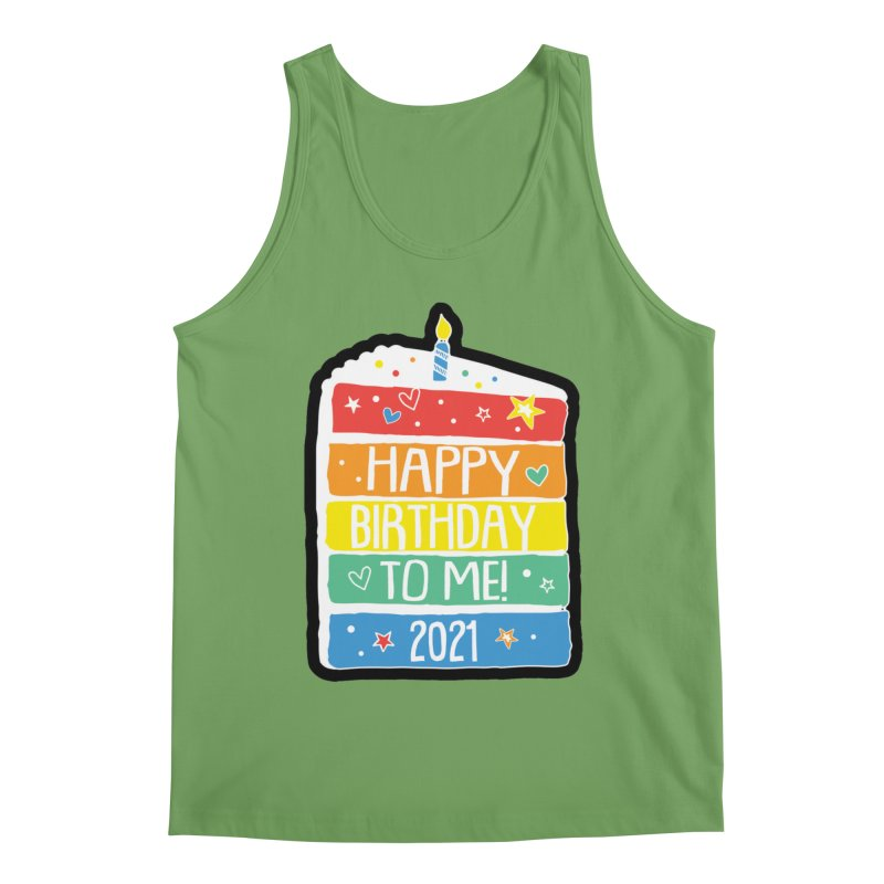 Happy Birthday to Me 2021! Men's Tank by Moon Joggers's Artist Shop