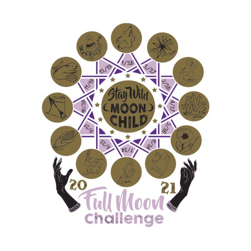 Full Moon Challenge Men's T-Shirt by Moon Joggers's Artist Shop