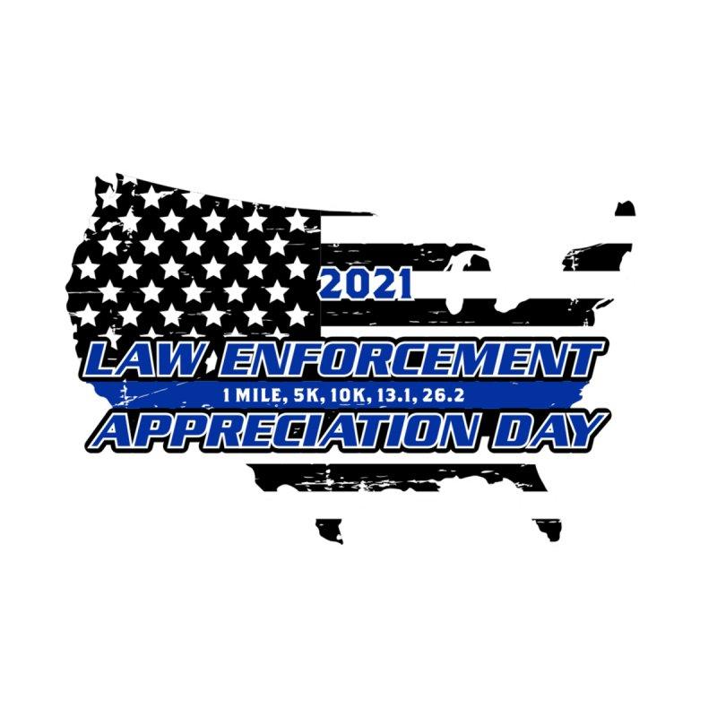 Law Enforcement Appreciation Men's T-Shirt by Moon Joggers's Artist Shop