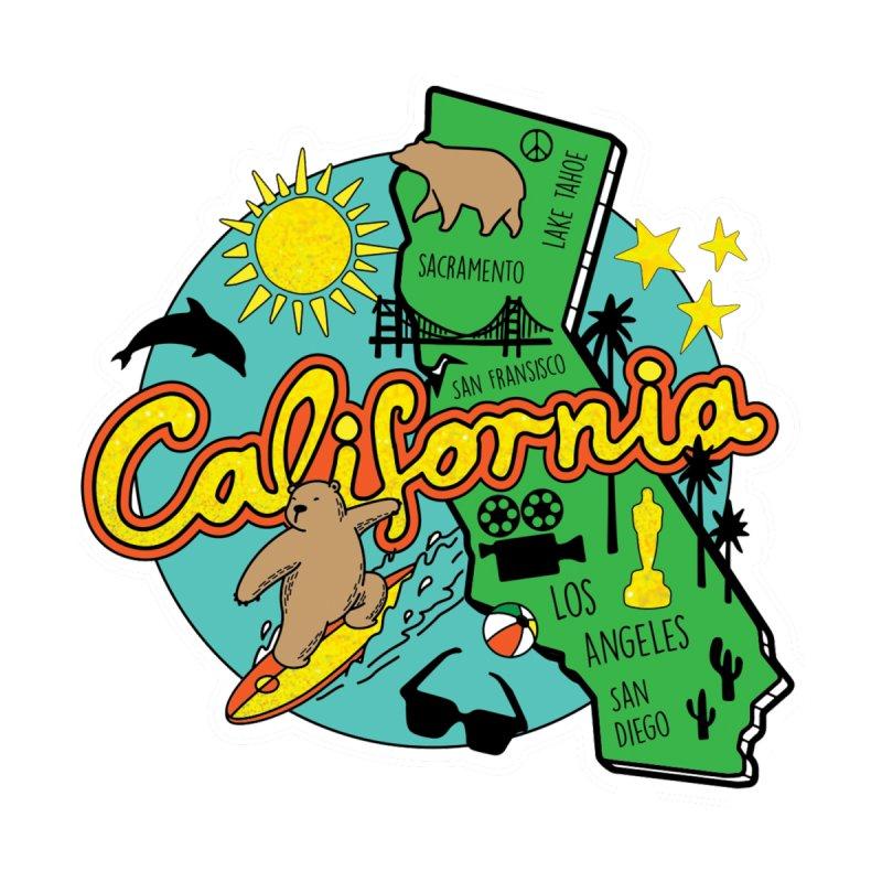 Race Through California Men's T-Shirt by Moon Joggers's Artist Shop