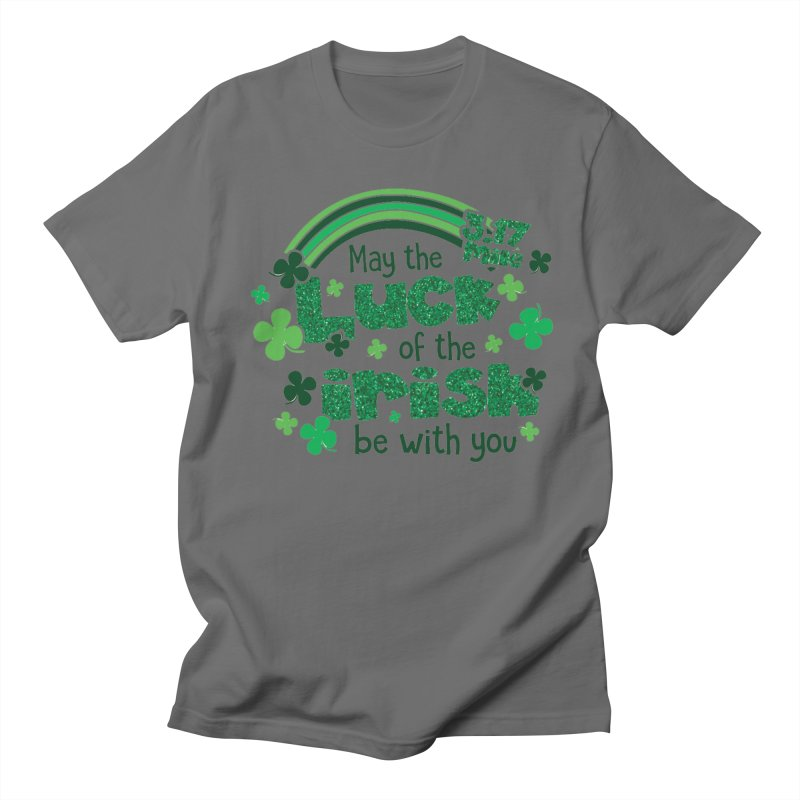 Luck of the Irish Men's T-Shirt by Moon Joggers's Artist Shop