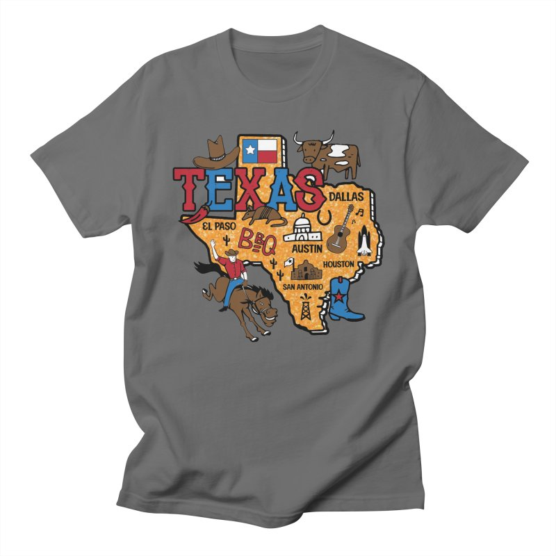 Race Through Texas Men's T-Shirt by Moon Joggers's Artist Shop
