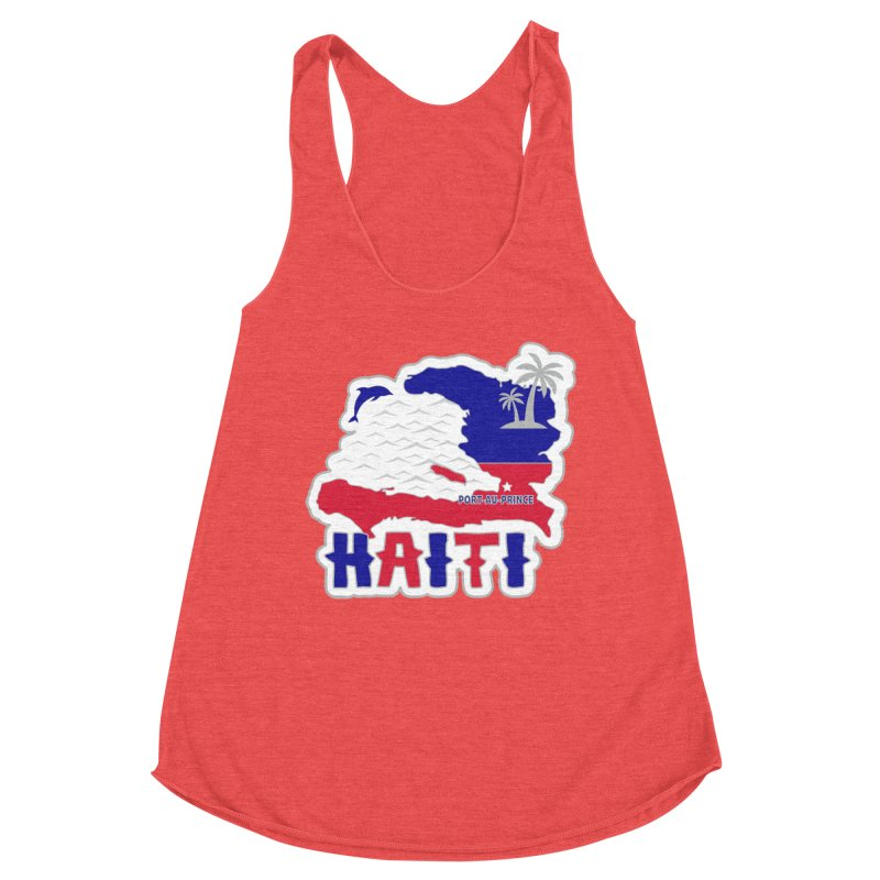 Race Across Haiti Women's Tank by Moon Joggers's Artist Shop