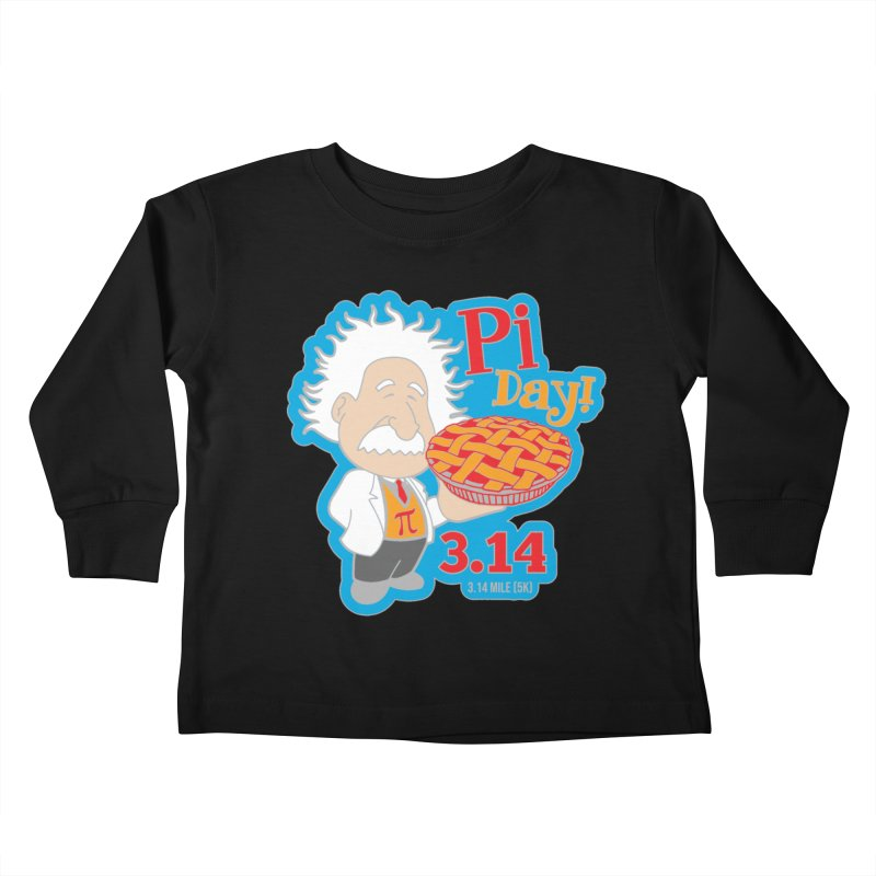 PI DAY Kids Toddler Longsleeve T-Shirt by Moon Joggers's Artist Shop