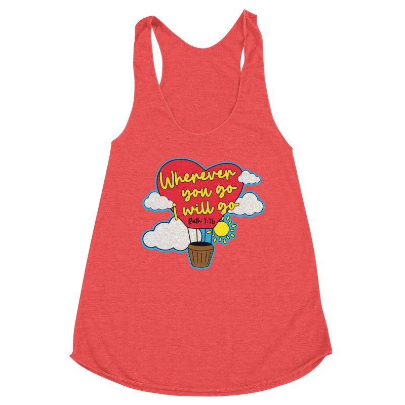 Where You Go I Will Go Women's Tank by Moon Joggers's Artist Shop