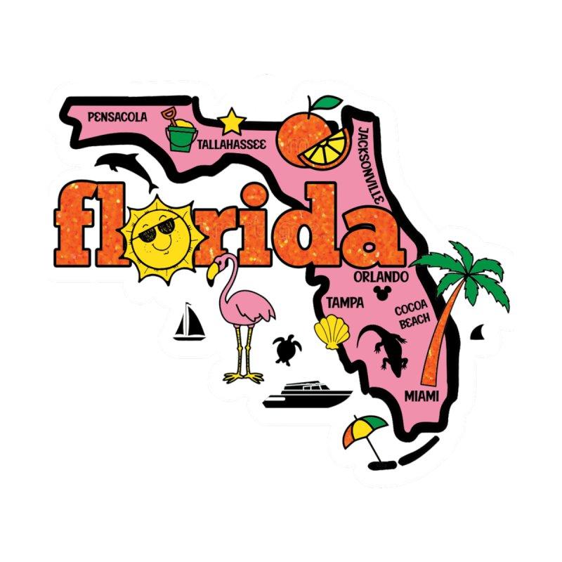 Race Through Florida Kids Toddler Longsleeve T-Shirt by Moon Joggers's Artist Shop