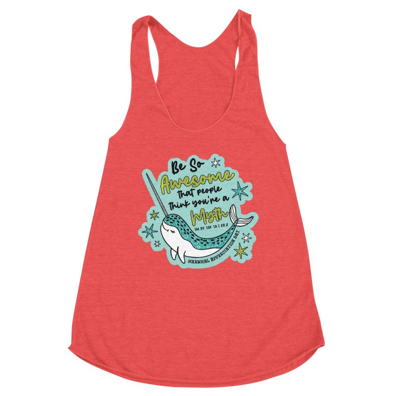 Narwhal Appreciation Day Women's Tank by Moon Joggers's Artist Shop