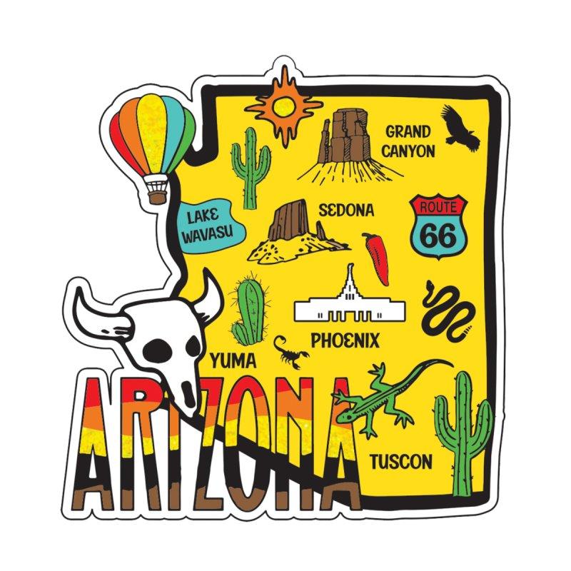 Race Through Arizona Men's T-Shirt by Moon Joggers's Artist Shop