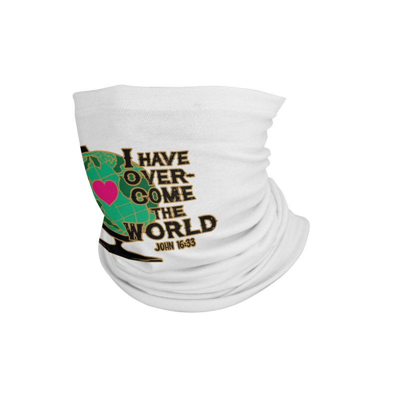 I Have Overcome 1M 5K 10K 13.1 26.2 Accessories Neck Gaiter by Moon Joggers's Artist Shop