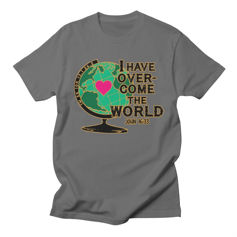 I Have Overcome 1M 5K 10K 13.1 26.2 Men's T-Shirt by Moon Joggers's Artist Shop