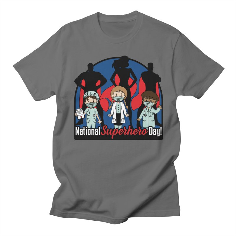 National Superheroes Day 2021 Men's T-Shirt by Moon Joggers's Artist Shop