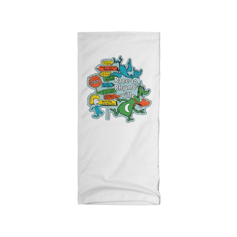 Race to Rhyme-Ville Accessories Neck Gaiter by Moon Joggers's Artist Shop