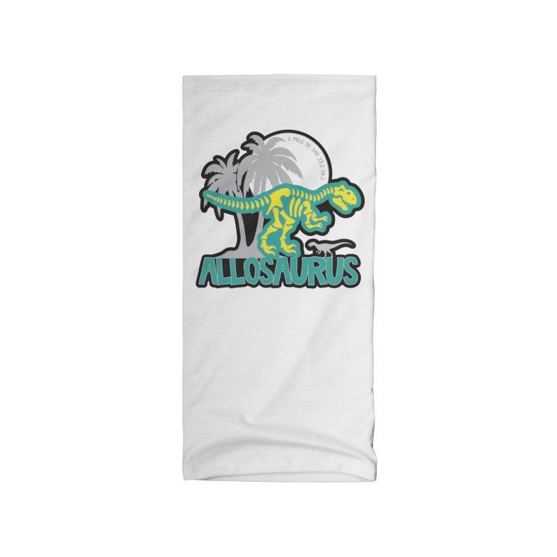 Allosaurus Dinosaurs! Accessories Neck Gaiter by Moon Joggers's Artist Shop