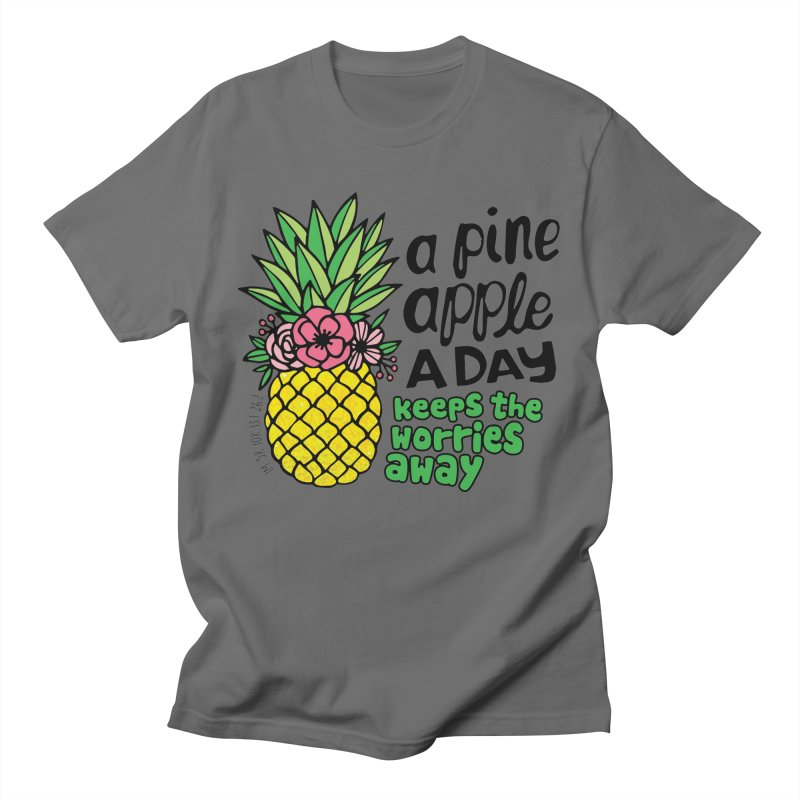 Pineapple Day Men's T-Shirt by Moon Joggers's Artist Shop