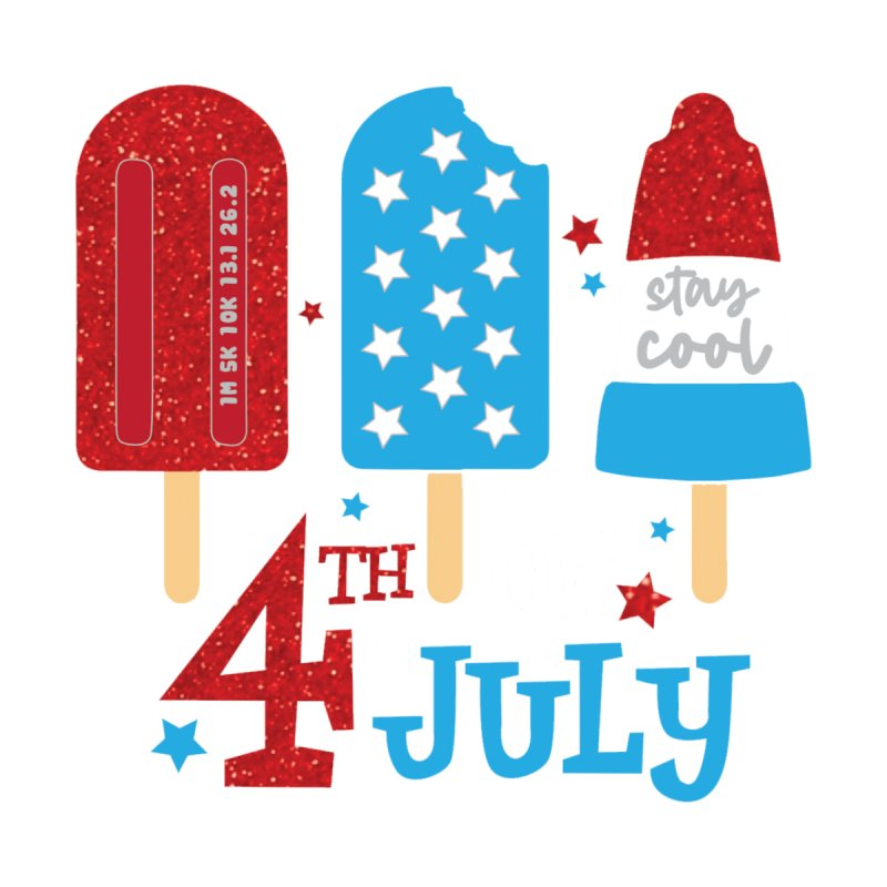 4th of July Men's T-Shirt by Moon Joggers's Artist Shop