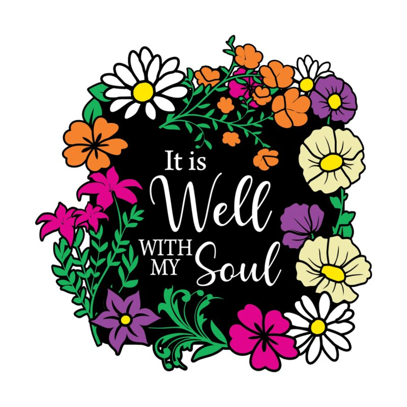 It Is Well With My Soul Men's T-Shirt by Moon Joggers's Artist Shop