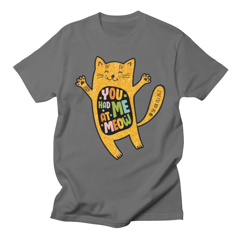 Cat Day - You Had Me At Meow Men's T-Shirt by Moon Joggers's Artist Shop