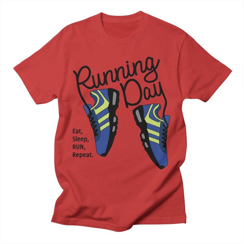 Running Day Men's T-Shirt by Moon Joggers's Artist Shop