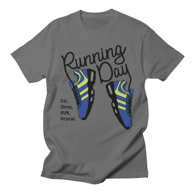 Running Day Men's T-Shirt by Moon Joggers's Artist Shop