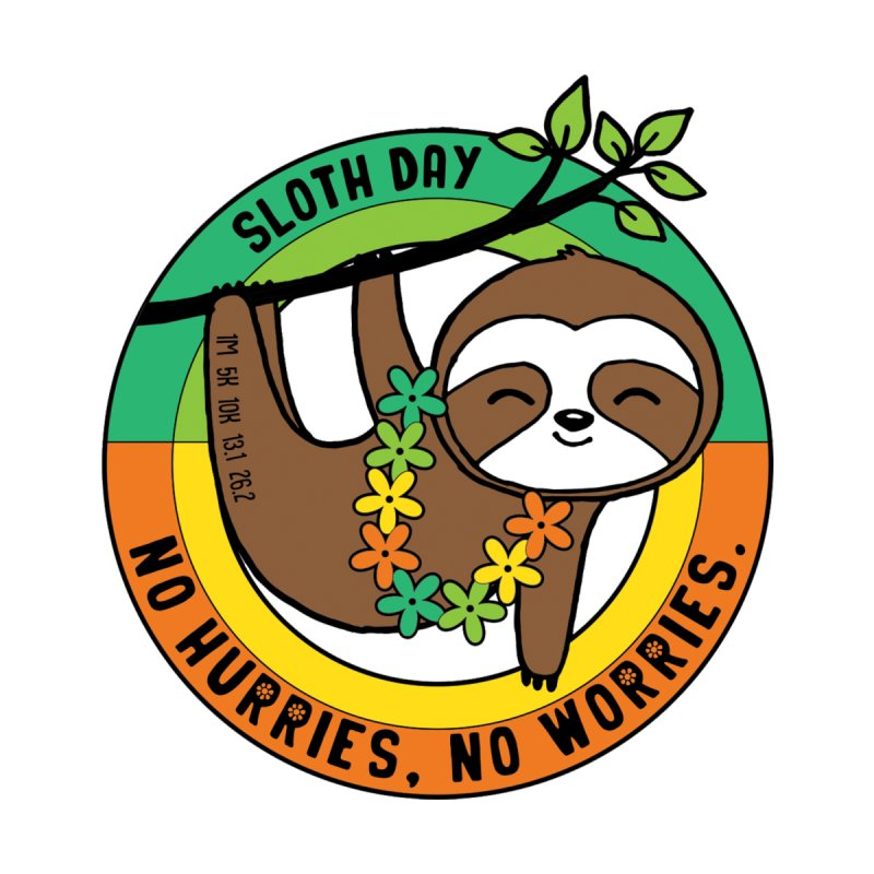 Sloth Day Women's Tank by Moon Joggers's Artist Shop