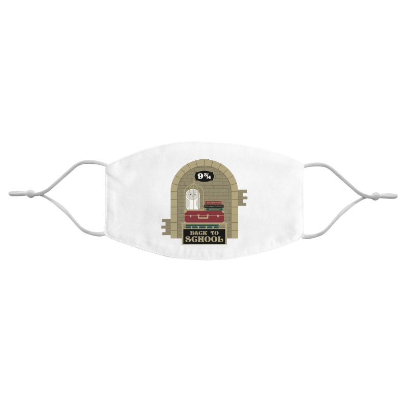Back to School Accessories Face Mask by Moon Joggers's Artist Shop