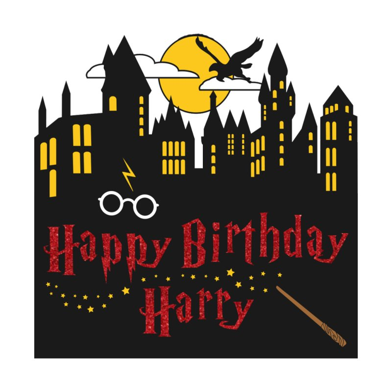 Happy Birthday Harry Accessories Face Mask by Moon Joggers's Artist Shop