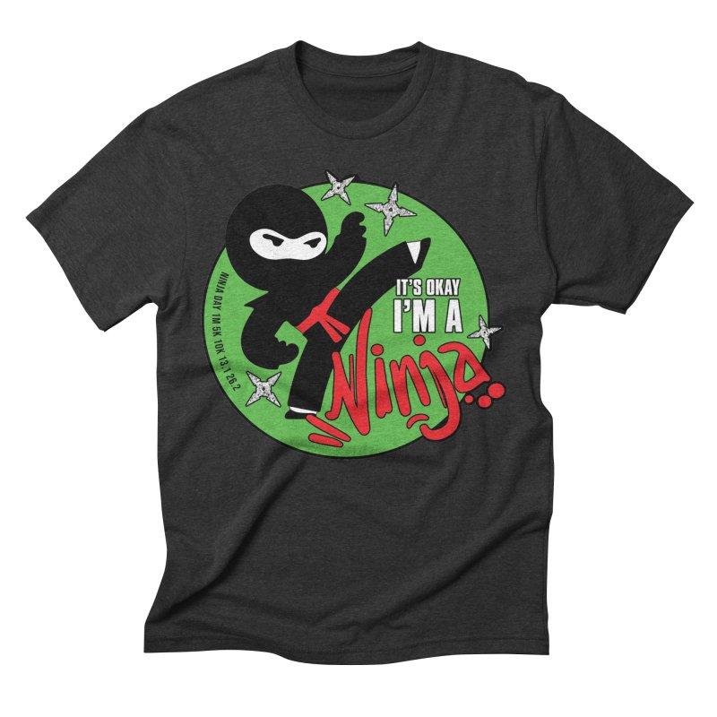 Ninja Day - It's Okay, I'm a Ninja Men's T-Shirt by Moon Joggers's Artist Shop
