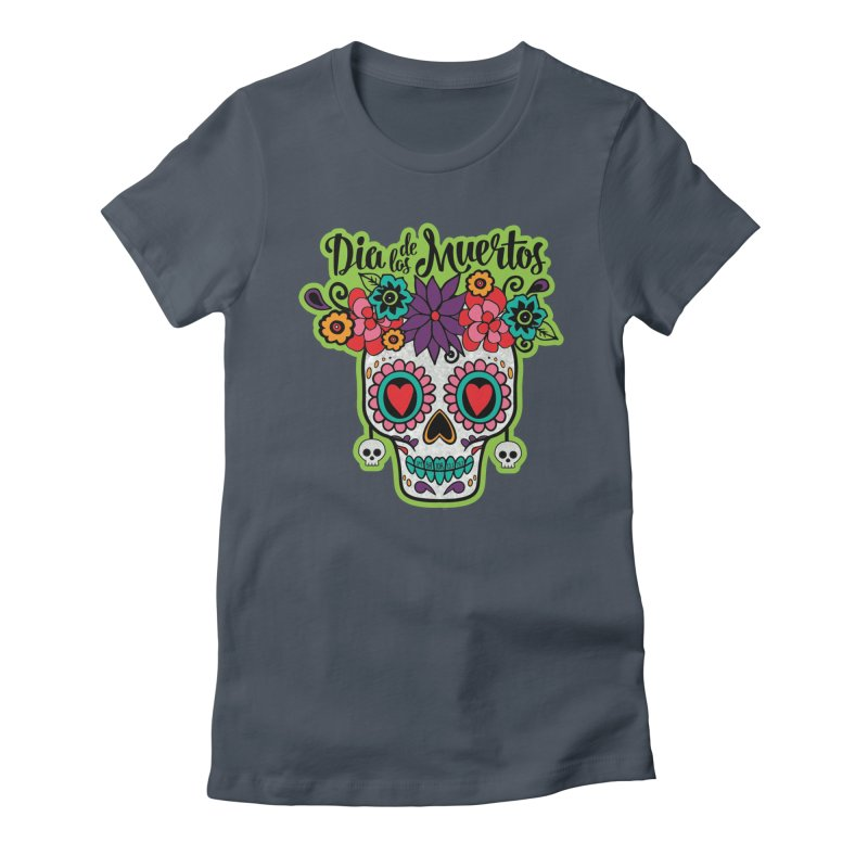 Day of the Dead Women's T-Shirt by Moon Joggers's Artist Shop
